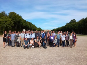 The project partners in the garden of Versailles, France. Photo: Yohan Lecuona, INRA Transfer